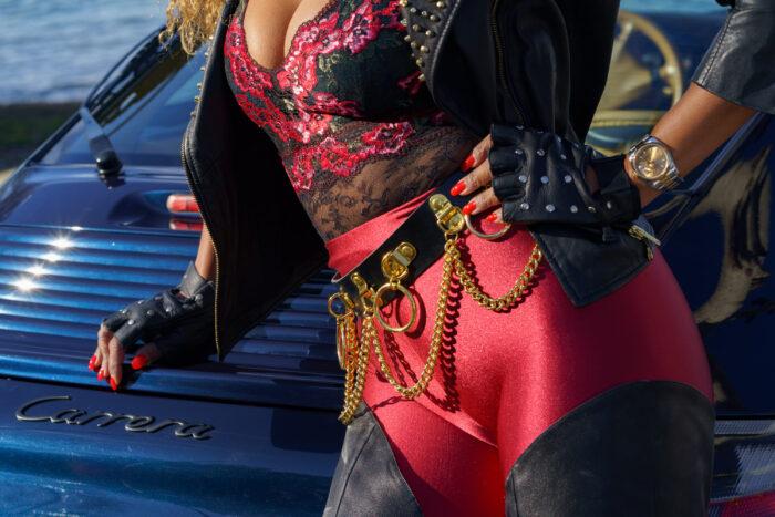 Mistress drive glamorous Bentley